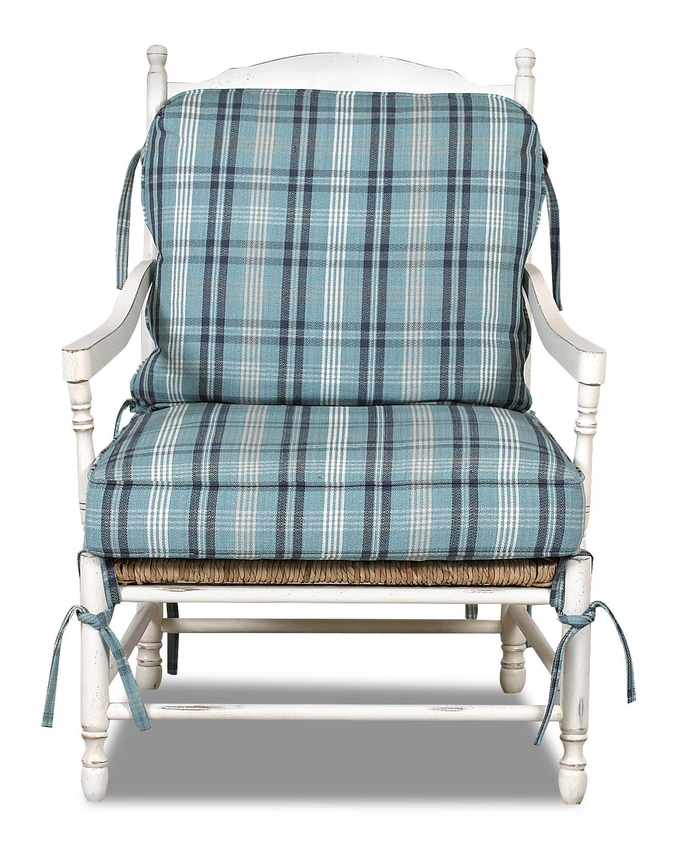 Klaussner Chairs and Accents Homespun Accent Chair  - Item Number: D350 OC