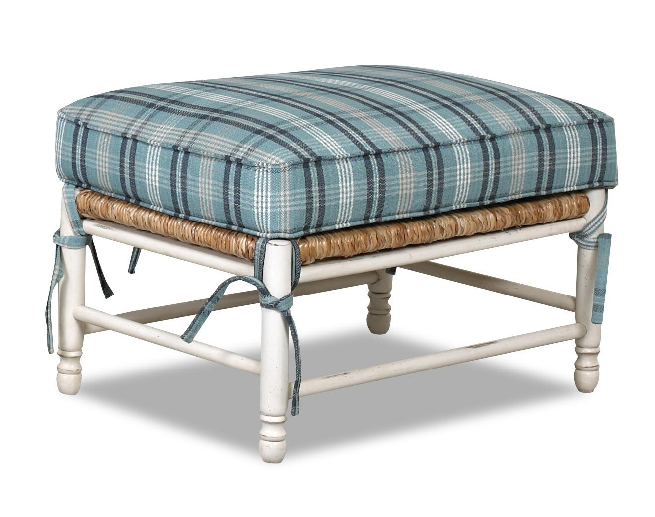 Klaussner Chairs and Accents Homespun Accent Ottoman - Item Number: D350 OTTO