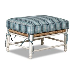 Elliston Place Chairs and Accents Homespun Accent Ottoman