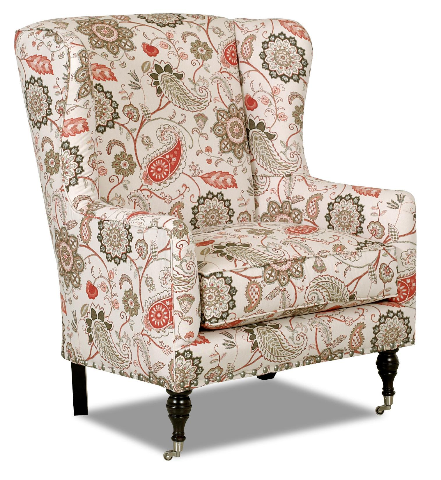 Klaussner Chairs and Accents Edenton Accent Chair - Item Number: D45710 OC