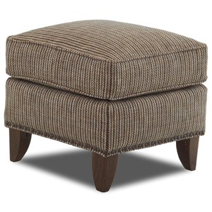 Klaussner Chairs and Accents Lexington Avenue Ottoman