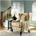 Klaussner Chairs and Accents Polo Transitional Slipcover Wing Chair - D97100 C