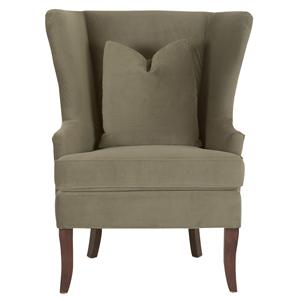 Klaussner Chairs and Accents Serenity Chair with Down Blend Cushions