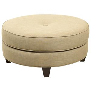 Klaussner Chairs and Accents Pippa Ottoman