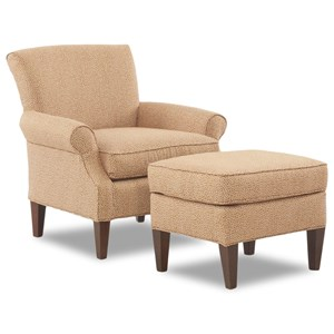 Elliston Place Chairs and Accents Chair & Ottoman Set