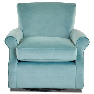 Elliston Place Chairs and Accents Swivel Glide Chair