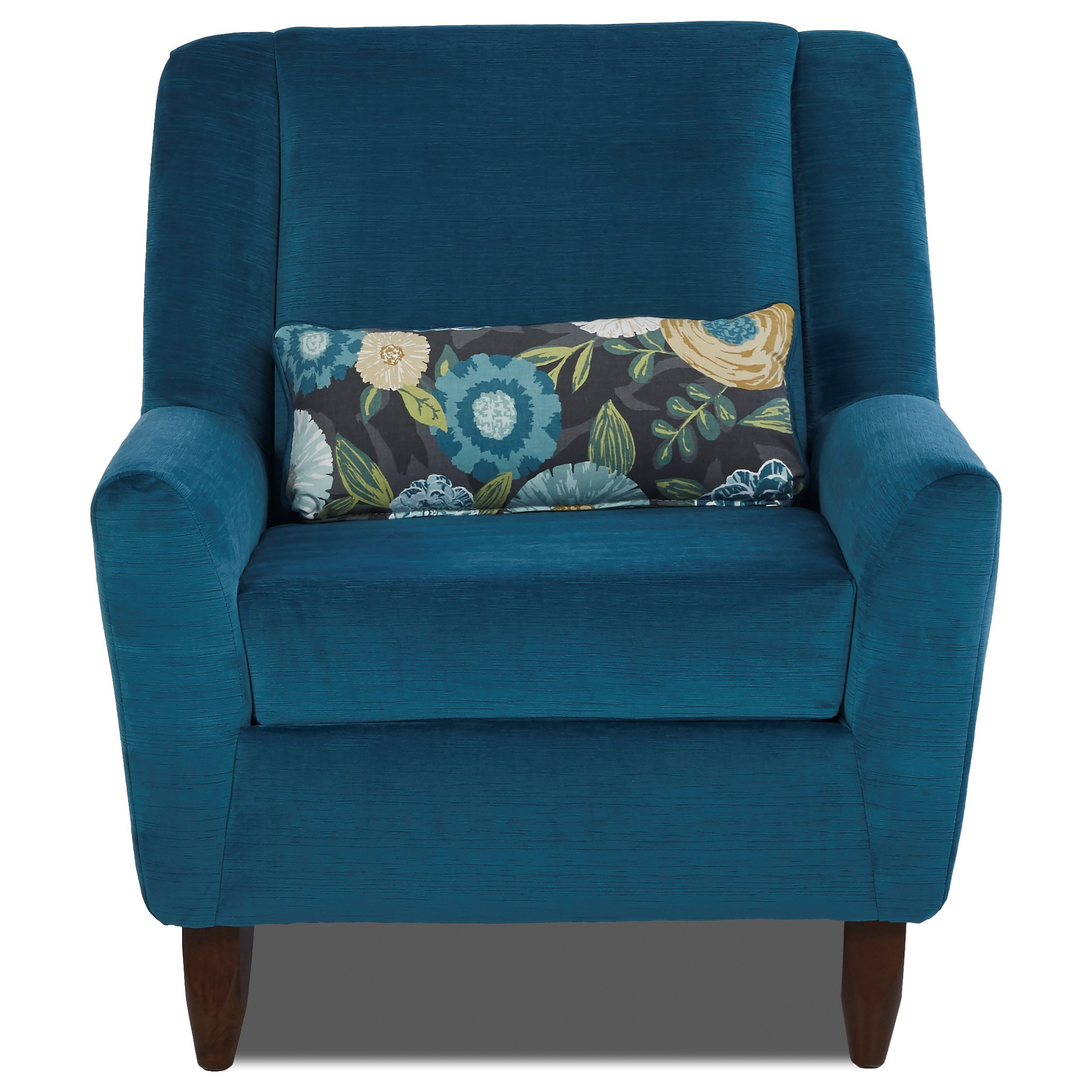 Klaussner Chairs and Accents Accent Chair - Item Number: K27200 OC-Empire Azure