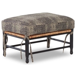 Homespun Accent Ottoman
