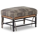 Klaussner Chairs and Accents Homespun Accent Ottoman - Item Number: K300 OTTO-ZOEY BLACK
