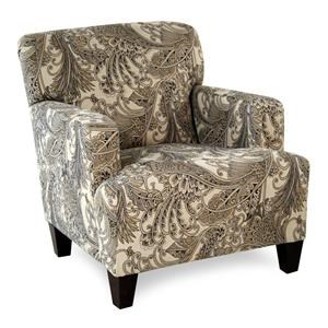 Simple Elegance Chairs and Accents Sunbrella Fabric Julep Arm Chair