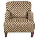Elliston Place Chairs and Accents Tanner Modern Track Arm Chair with Expansive Seat Cushion