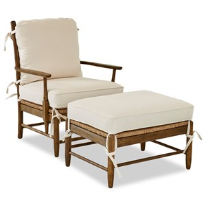 Riverbank Occasional Chair & Ottoman