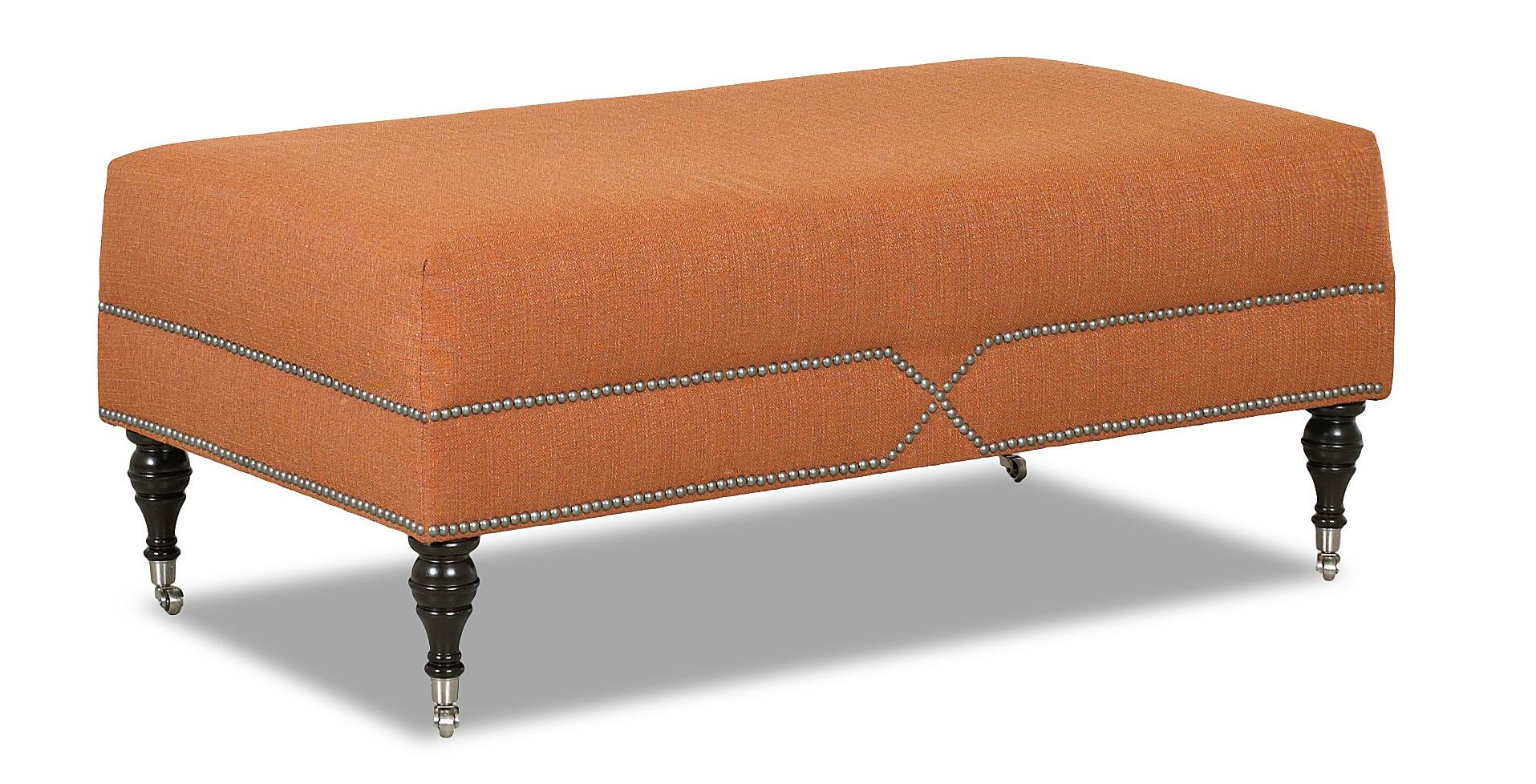 Klaussner Chairs and Accents Beaufort Accent Ottoman - Item Number: K46510 OTTO
