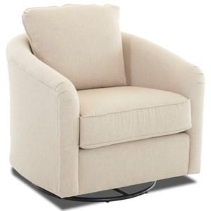 Upholstered Swivel Glider