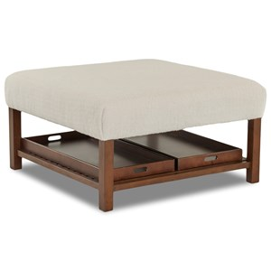 Elliston Place Chairs and Accents Square Ottoman