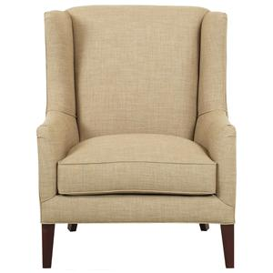 Elliston Place Chairs and Accents Upholstered Quinn Chair with Wings