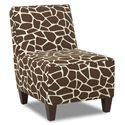 Elliston Place Chairs and Accents Kaylee Armless Accent Chair