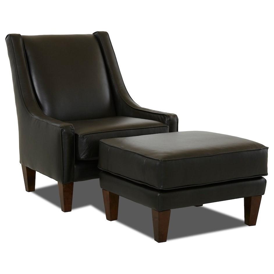 Matrix Chair & Ottoman