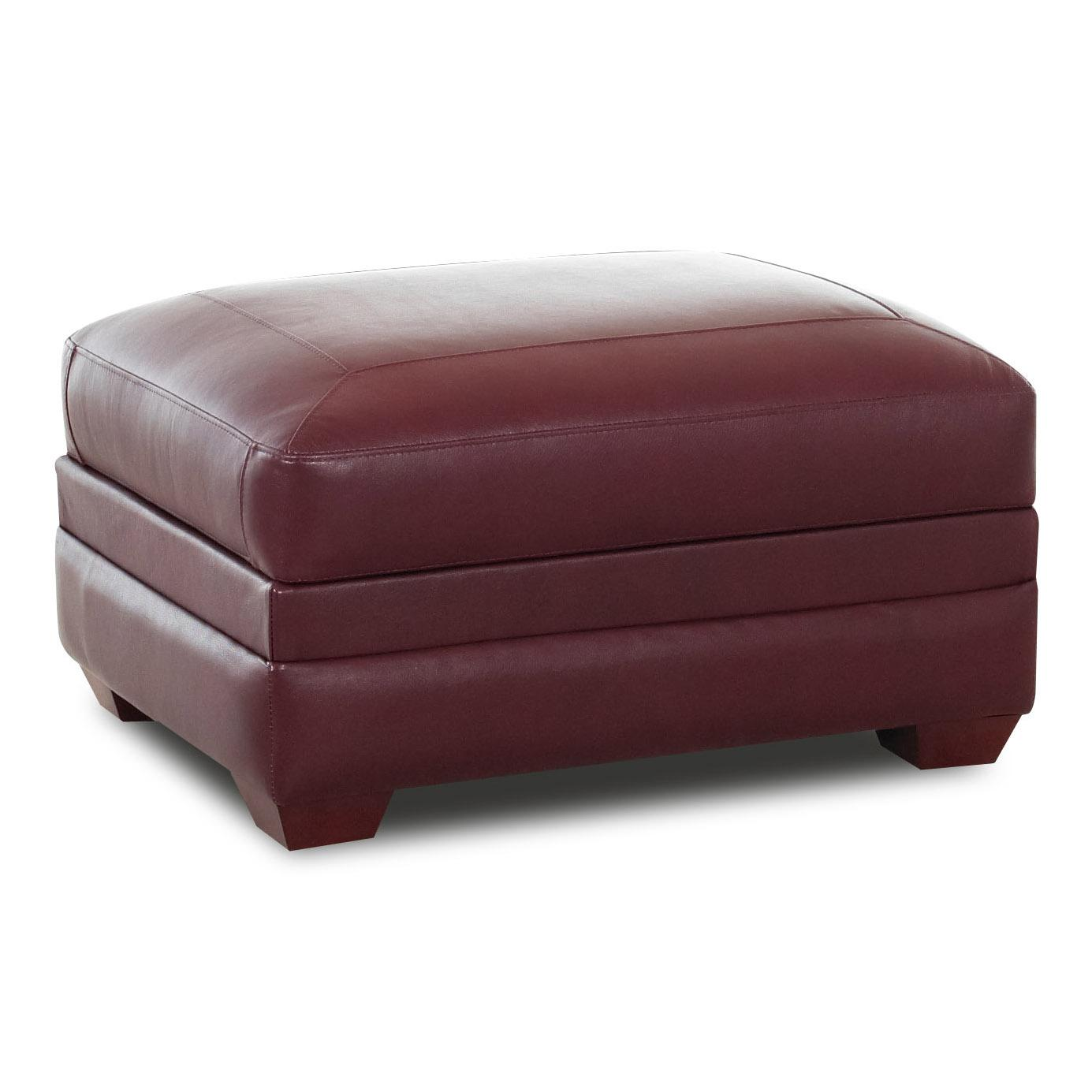 Klaussner Chairs and Accents Switch Storage Ottoman - Item Number: LDP7400STGOT