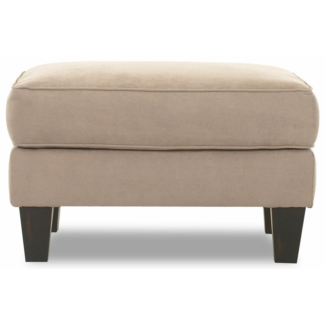 Klaussner Kris Upholstered Ottoman - Item Number: B98900 OTTO