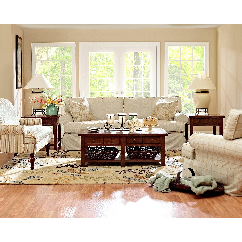Klaussner lahoya stationary living room group olinde 39 s for Klaus k living room brunssi