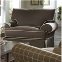 Klaussner Lahoya Chair with Slipcover and Blend Down Cushions - D28100C