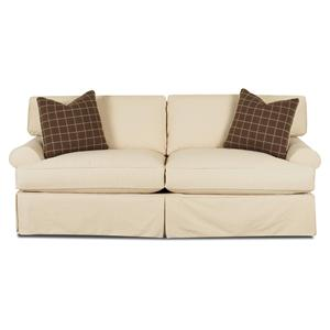 Lahoya Air Dream Sleeper Sofa with Slipcover and Blend Down Cushions by Klaussner