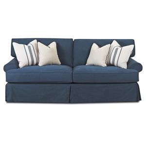 Klaussner Lahoya Sofa with Blend Down Cushions