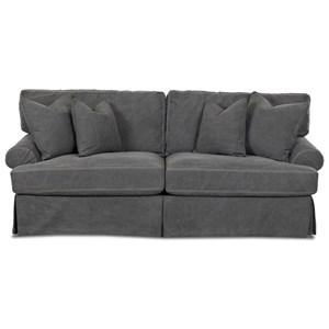 Slipcover Enso Memory Foam Sleeper Sofa