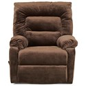 Klaussner Landon Casual Power Reclining Chair - Item Number: 86503 PWRC-Challenger Chocolate