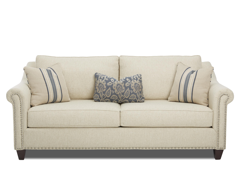 Klaussner Langley Sofa - Item Number: K68310 S-ShackBiscuit