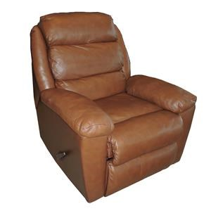 Belfort Basics Lanier Casual Swivel Rocking Reclining Chair