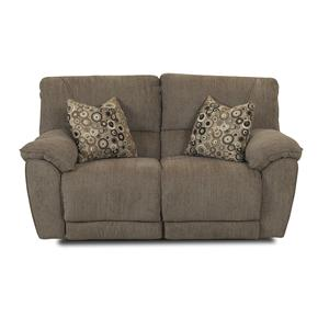 Elliston Place Laredo  Power Reclining Loveseat with Pillows