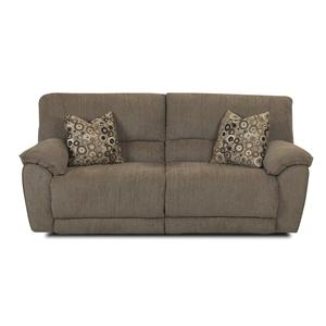 Klaussner Laredo  Power Reclining Sofa with Pillows