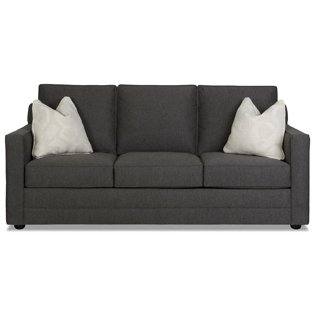 Queen Sleeper Sofa w/ Dreamquest Mattress