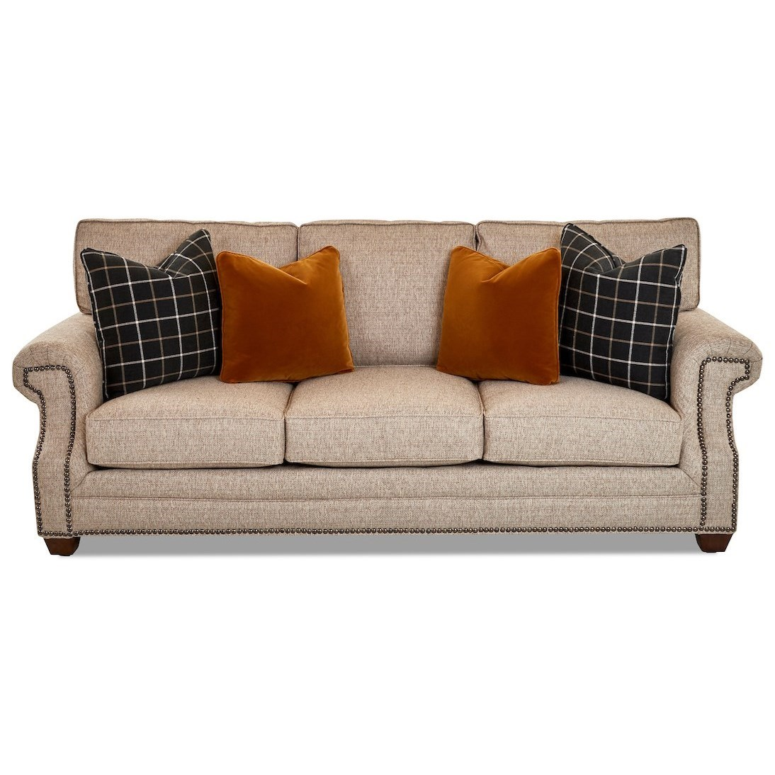 Lawrence Sofa by Klaussner at Johnny Janosik