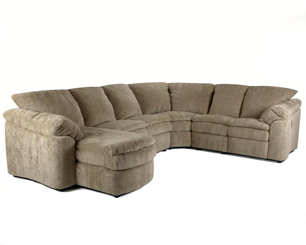 Klaussner Legacy Right Arm Reclining Loveseat And Left Arm