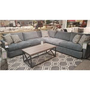 Klaussner Leisure 3-Piece Sectional