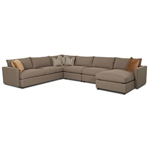 Klaussner Leisure Sectional Sofa