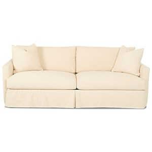 Klaussner Leisure Extra Large Sofa with Slipcover