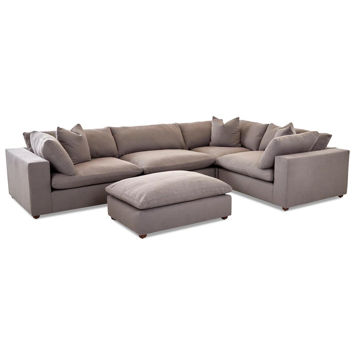 Living Room Group with Ottoman