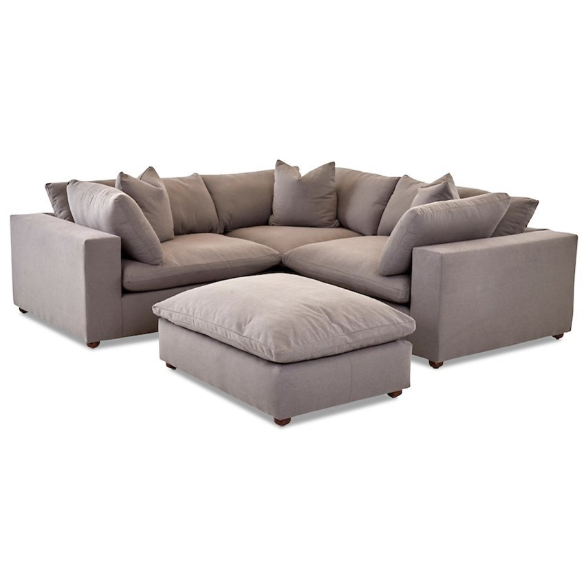 Living Room Group with Ottoman