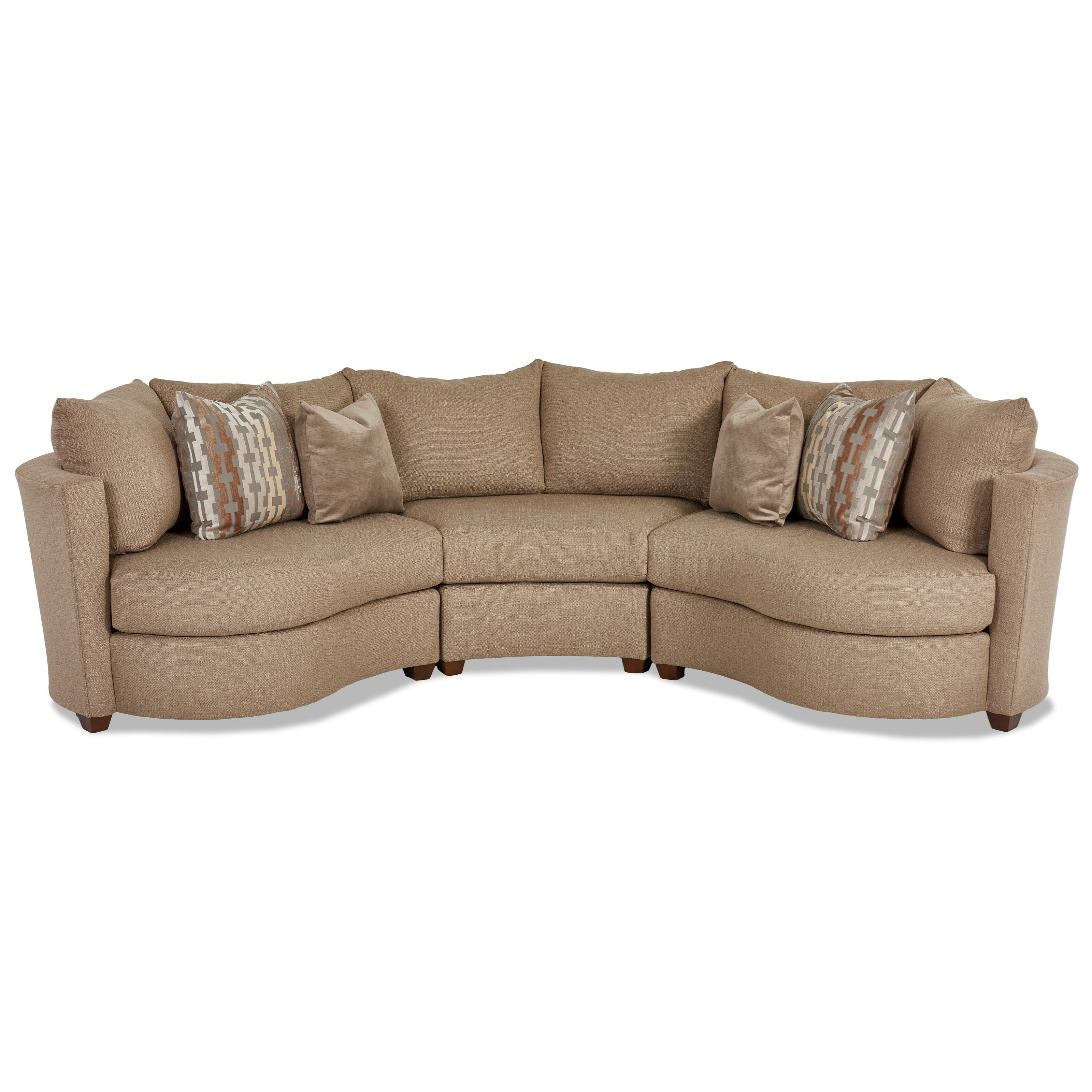 Klaussner LIA Sectional - Item Number: K85200L BC+WEDGE+R BC