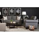 Klaussner Lillington Distinctions  Stationary Living Room Group - Item Number: D70200 Living Room Group 2