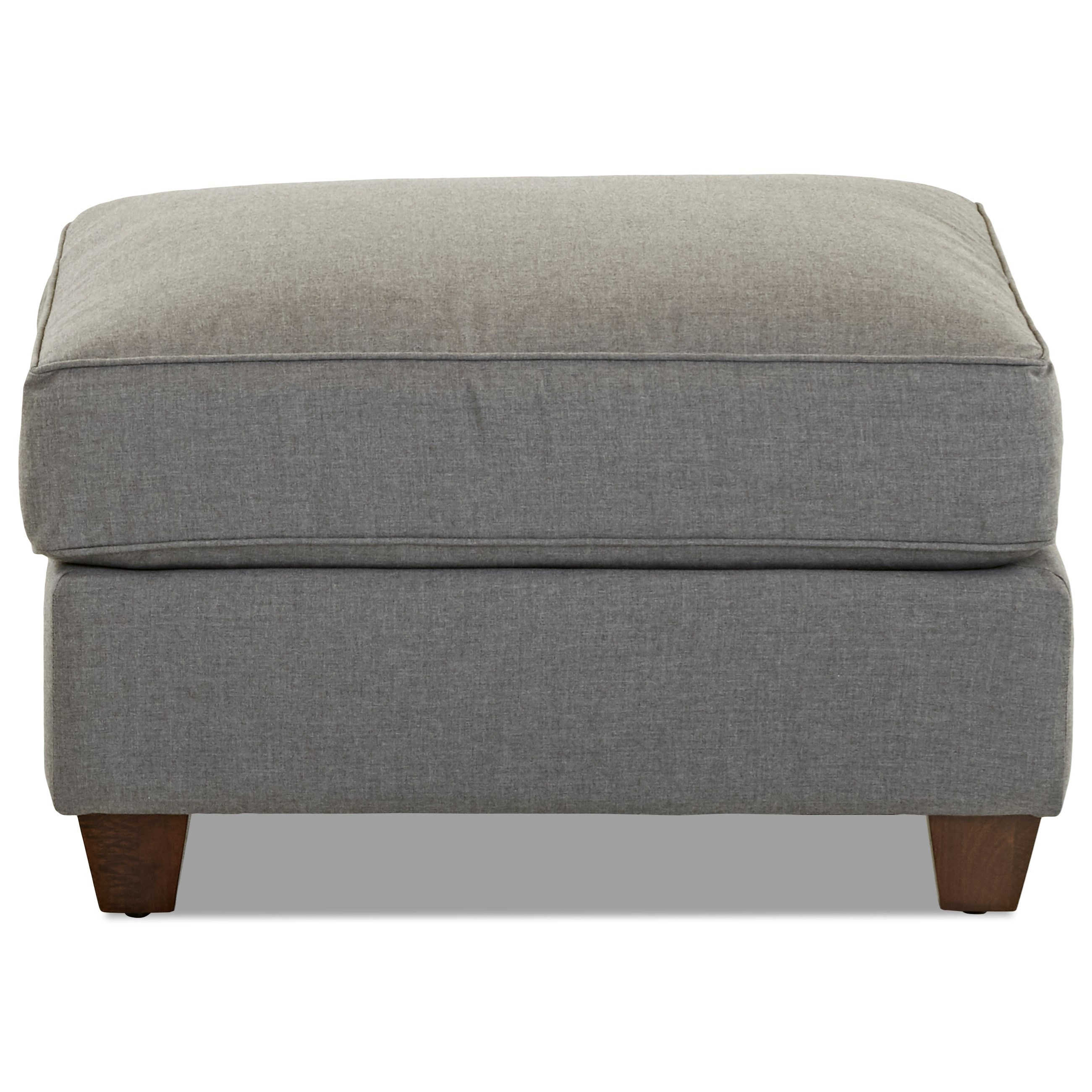 Lillington Distinctions  Ottoman by Klaussner at Johnny Janosik