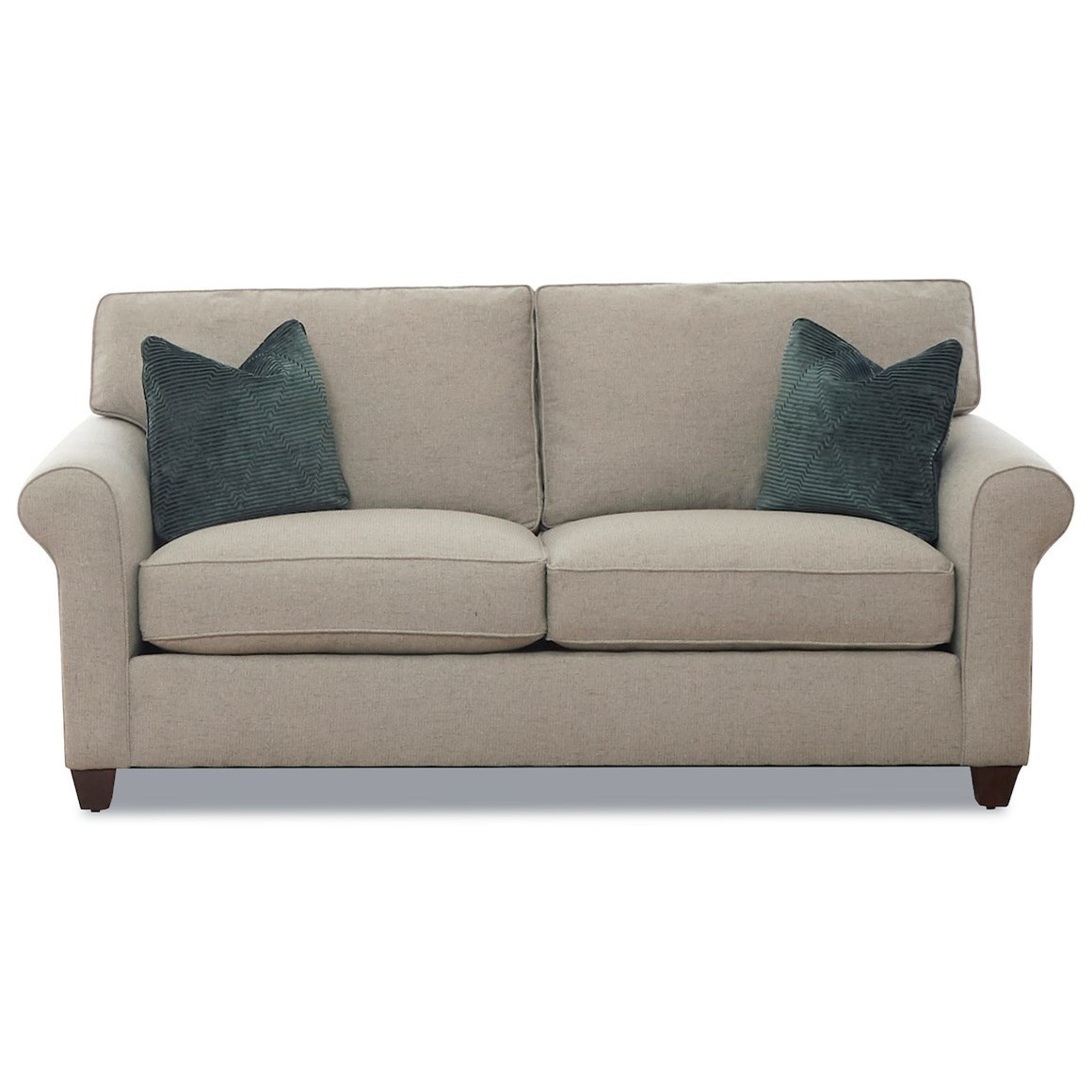 Lillington Distinctions  Stationary Sofa by Klaussner at Johnny Janosik