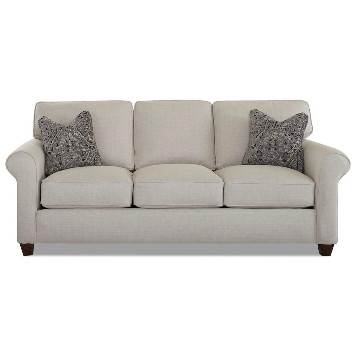 Lillington Distinctions  Extra Large Queen Air Coil Sleeper Sofa by Klaussner at Johnny Janosik
