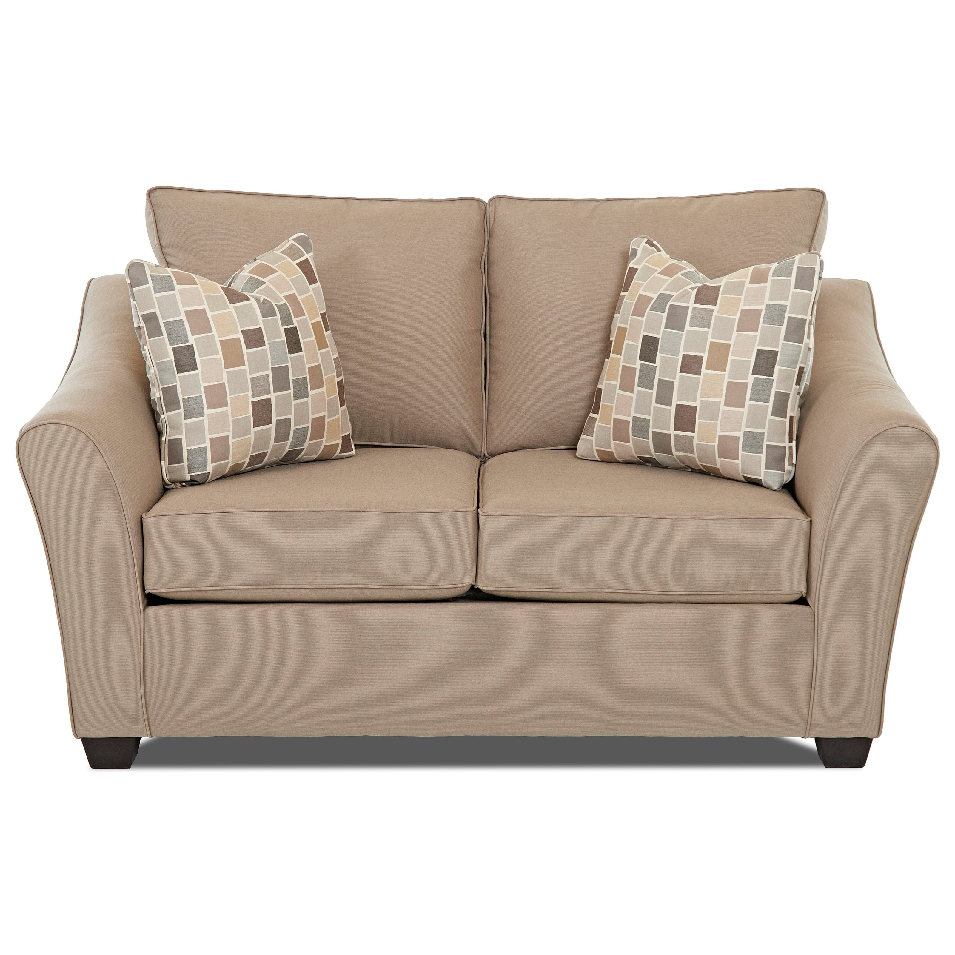 Linville Loveseat by Klaussner at Johnny Janosik