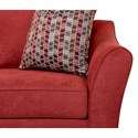 Elliston Place Linville Contemporary Loveseat with Flared Arms
