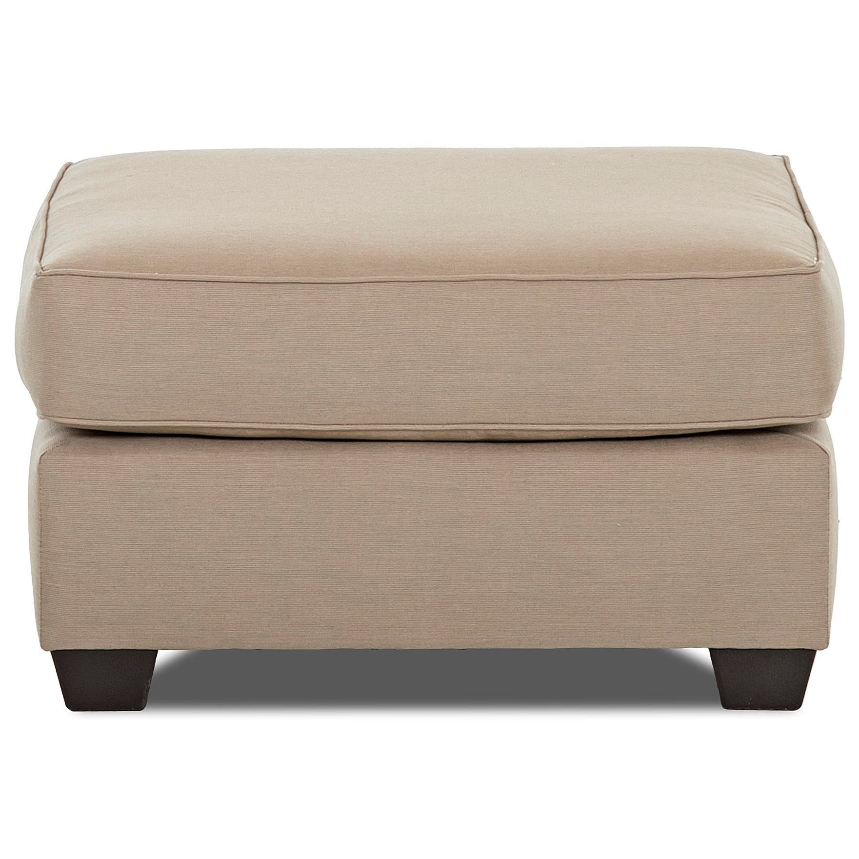 Linville Ottoman by Klaussner at Johnny Janosik